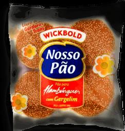 Pão Hambúrguer  Gergelim Wickbold 200g