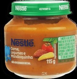 Papinha Infantil Carne Com Leg & Mand Nestle 115g