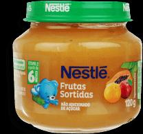 Papinha Infantil Fruta Sortidas Nestle 120g