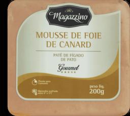 Patê De Figado De Pato Magazzino 200g