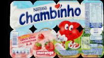 Petit Suisse Morango Chambinho 320g