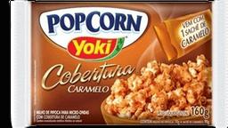 Yoki Pipoca Para Microondas Cobertura de Caramelo Popcorn