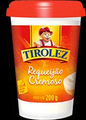 Requeijão  Cremoso Trad Tirolez 200g