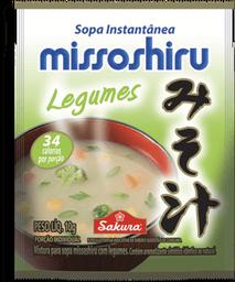 Sopa Instantanea Legumes Missoshiru 10g