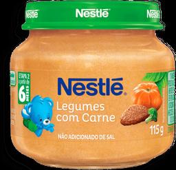 Papinha Infantil Car/Legumes Nestle 115g