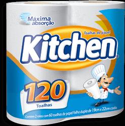 Papel Toalha Kitchen 22X19 Com 2