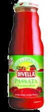 Molho Italiana  Passata Pomod Divella 680g