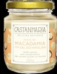 Pasta De Macadamia Com Sal Do Himalaia Castanharia