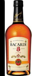 Rum Bacardi 8 Yo 750Ml