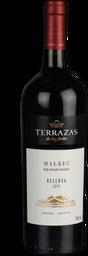 Vinho Argentino Terrazas Reserva Malbec 750ml