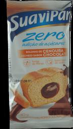 Mini Bolo Zero Cenoura/Chocolate Suavipan 40g