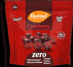 Cranberry Com Chocolate 52% Cacau Flormel 30g