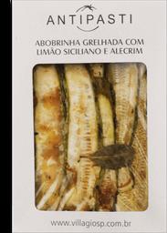 Antipasti Abobrinha Com Limão Siciliano E Alecrim