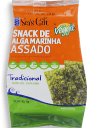 Seas Gift Snack De Alga Marinha Trad Awp 5g