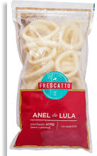 Anéis Lula Congelado Santa Luzia 500g
