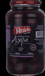 Azeitona Preta Chilena Raiola 500g