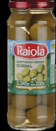 Azeitona Vde Esp Gordal Raiola 200G