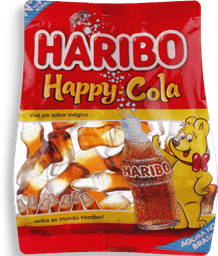 Bala Gelatina Happy Cola Haribo 100g