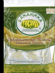 Bananinha Paraibuna 200g