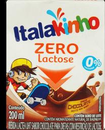 Bebida Lactea Chocolate Zero Lactose Italac 200ml