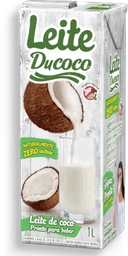 Bebida A Base De Leite De Coco Ducoco Original 1L