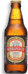Cerveja Extra Serramalte 300ml