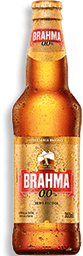 Cerveja Zero Brahma Ln 355Ml