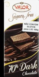 Chocolate Amargo Valor 100g