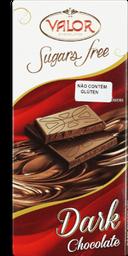 Chocolate Dark Sem Açúcar Valor 100g