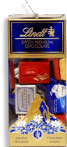 Chocolate Sui Assorted Napolitans Lindt 350g