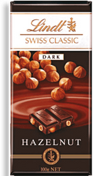 Chocolate Sui Dark Hazelnut Lindt 100g