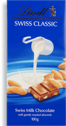 Chocolate Sui Classic Milk Almond Lindt 100g