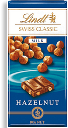Chocolate Sui Classic Milk Hazelnut Lindt 100g