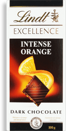 Chocolate Sui Excellence Orange Lindt 100g