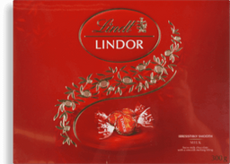 Chocolate Sui Lindor Milk Gift Box Lindt 300g