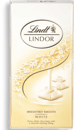 Chocolate Sui Lindor White Lindt 100g