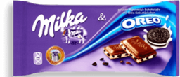 Chocolate Milka E Oreo 100g