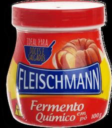 Fermento Em Em Pó Quimico Fleischmann 100g