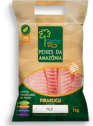 Cubos Pirarucu Peixes Da Amazonia 450g