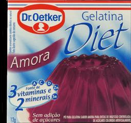 Gelatina Diet Amora Oetker 12G