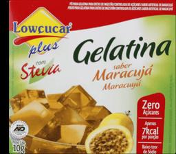Gelatina Maracujá Zero Com Stevia Lowcucar 10g