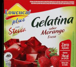 Gelatina Morango Zero Com Stevia Lowcucar 10g