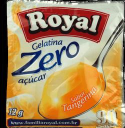Gelatina em pó ROYAL Zero Tangerina 12g