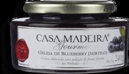 Geleia Gourmet Mirtilo Casa Madeira 240G