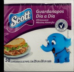Guardanapo Familia Scott 30X30 Com 50