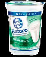 Iogurte Natural Desnatado Batavo 170g