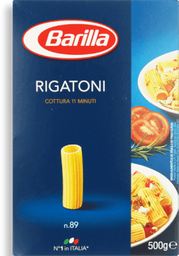 Macarrão Importado C Rigatoni N89 Barilla 500g