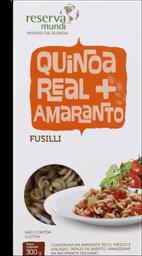 Fusilli De Quinoa Trad Orgânico Quinoa Real 300g