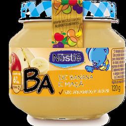 Papinha Infantil Maçã Com Banana Nestle 120g