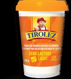 Requeijão  Sem Lactosatose Light Tirolez 200g